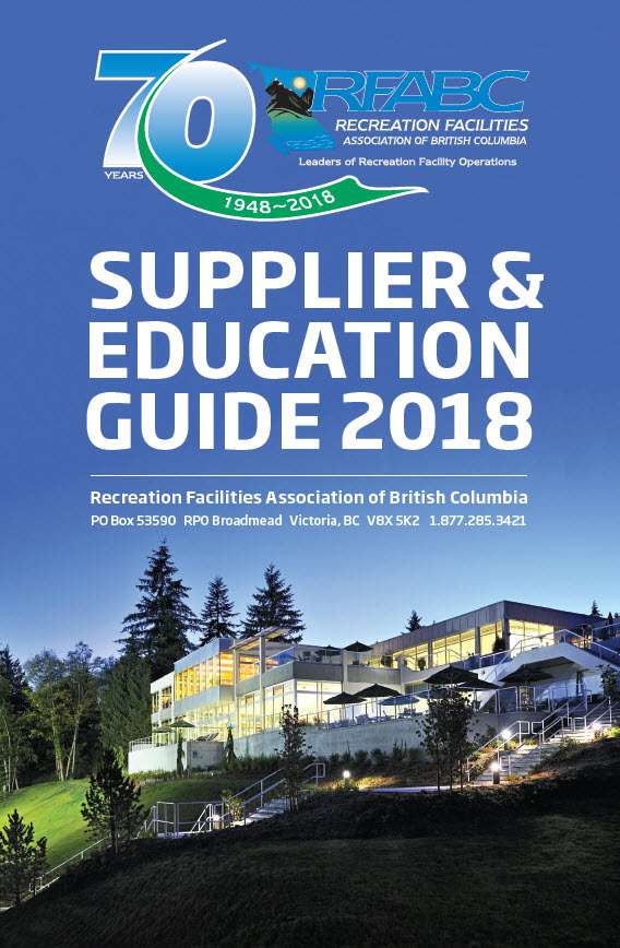 2018 Suppliers Guide Cover